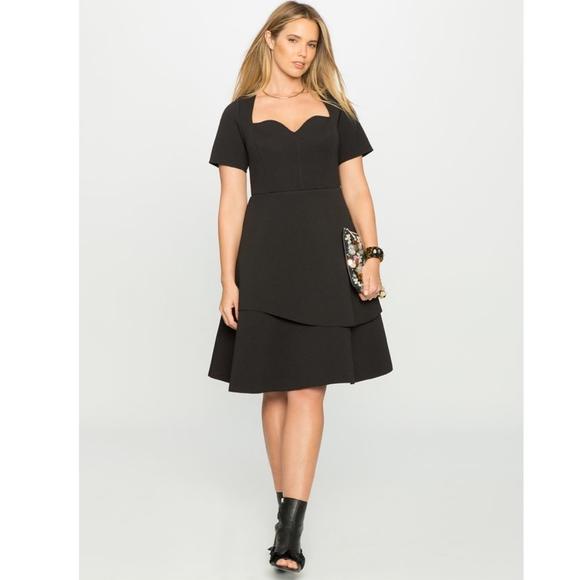 7c5b2a9a6bca Eloquii Dresses & Skirts - Eloquii Circle Sweetheart Dress - 24P